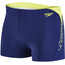 speedo Boom Splice Aquashort Men Navy/Lime Punch